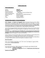 CURRICULUM VITAE - FRBB - UTN