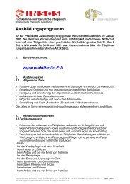Ausbildungsprogramm IVA