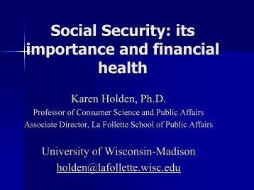 PDF Format - Retirement Association - University of Wisconsin ...