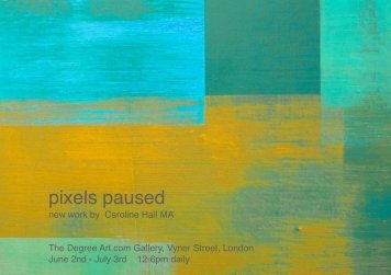 pixels paused - Abstract Critical