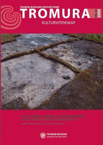 KULTURVITENSKAP - Munin - Universitetet i Tromsø