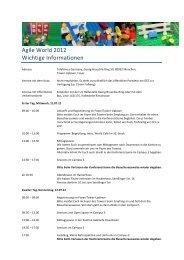wichtige Informationen rev - Agile World 2013