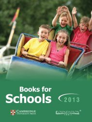 School Books - Cambridge University Press India