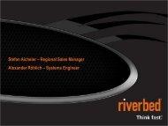 Riverbed Vorstellung November 2011