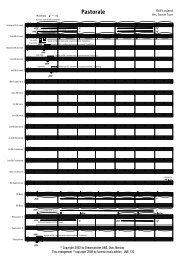 Finale 2007 - [Pastorale (Lovland) - Score] - Lucerne Music Edition