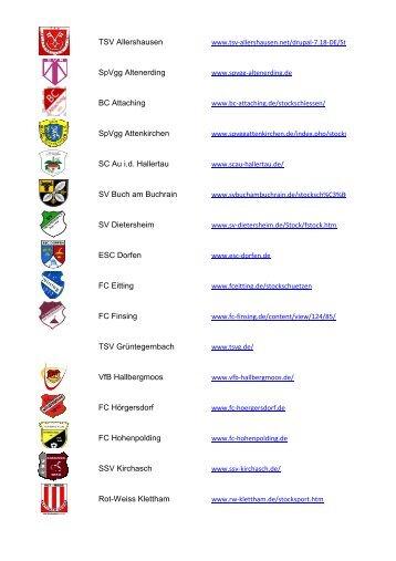 TSV Allershausen SpVgg Altenerding BC Attaching ... - Kreis 306