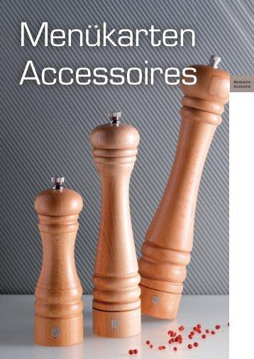 AccessoiresMenagen / Essig u. Öldosierer / Parmesandosen