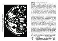 Gottesdienste u. Kirchenmusik vom 1. Advent bis Dreikönig