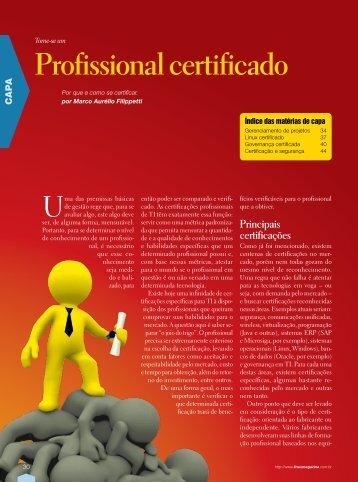 Profissional certificado - Linux Magazine