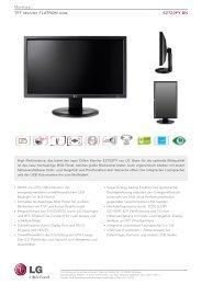 Monitore TFTMonitorFLATRONwide E2722PY-BN