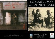 Falklands war 25TH anniversarY - Boekje Pienter