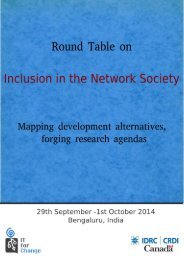 Round Table on Inclusion in the Network Society-Full Report