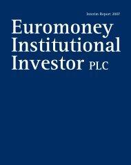 Interim Report 2007 - Euromoney Institutional Investor PLC