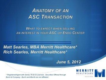 Focus Group Report - Mezzanine - Becker's ASC Review