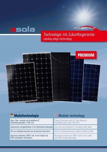 Technologie mit Zukunftsgarantie PReMIUM - energy-team.at ...