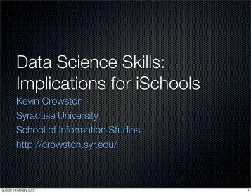 Brief overview of data science and analytics