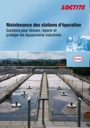 Maintenance des stations d'épuration - Henkel