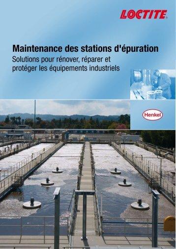 Maintenance des stations d'épuration - Henkel