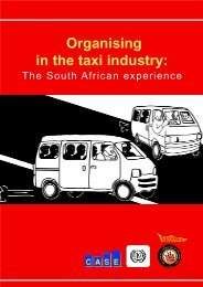 Organising in the taxi industry: - Inclusive Cities