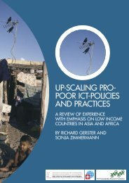 Up-Scaling Pro-Poor ICT Policies and Practices - ICT Digital Literacy