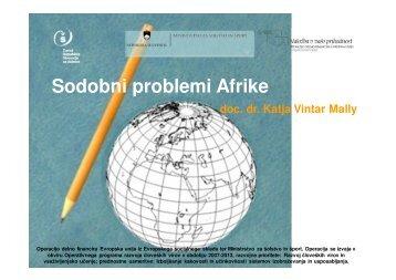 Afrika (dr. Katja Vintar Mally) - Zavod RS za Å¡olstvo