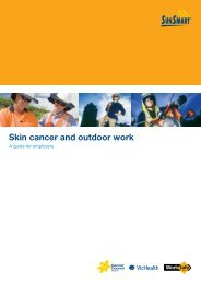 Skin cancer and outdoor work: a guide for employers - SunSmart