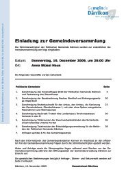 Weisung zur Gemeindeversammlung [PDF, 922 KB]