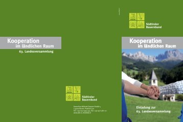 Kooperation Kooperation Kooperation - SuedtirolNews.it
