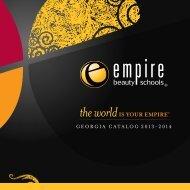 GEORGIA CATALOG 2013-2014 - Empire Beauty School