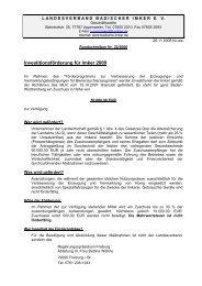 Rundschreiben Nr.22-2008.pdf - Landesverband Badischer Imker eV
