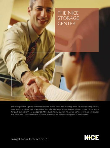 THE NICE STORAGE CENTER - Sigma Wireless