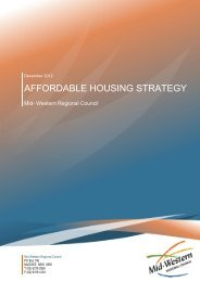affordable housing strategy - Mid Western Regional Council - NSW ...
