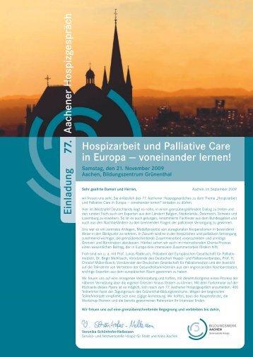 Hauptprogramm - Servicestelle Hospiz