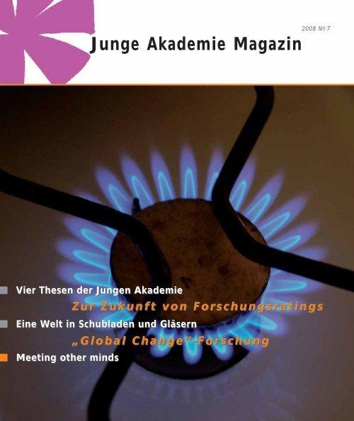HUM – die Kunst des Sammelns (Junge Akademie Magazin 2008)