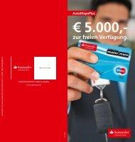 zur freien Verfügung. - Santander Consumer Bank AG