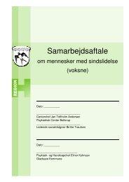 Samarbejdsaftale - Region Hovedstadens Psykiatri