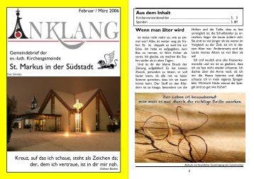 """Singspiel """"Bileam"""" - St.-Markus"""