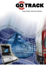 Case Study: Service Industry - GPS Vehicle Tracking System
