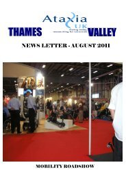 Newsletter - August 2011 - Ataxia UK