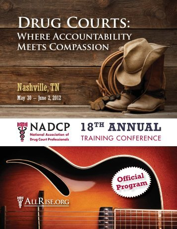 18th Annual Training Conference Program - National Drug Court ...