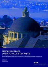 Heft 3b / 2011 - PdA - ETH Zürich