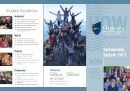 community update flyer - Howick College