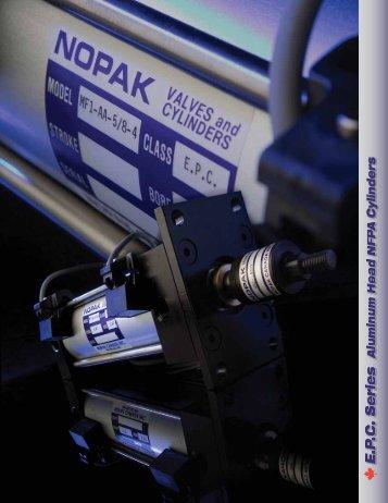 EPC Series Cylinders - Nopak Canada