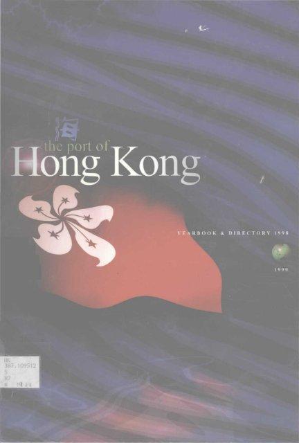 Marine Department, Hong Kong SAR - HKU Libraries - The ...
