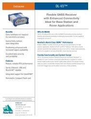 DL-V3 Product Sheet - NovAtel Inc.