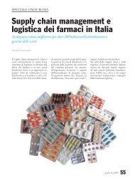 Supply chain management e logistica dei farmaci in Italia