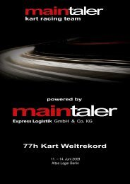 11. – 14. Juni 2009 Altes Lager Berlin - Maintaler Express Logistik ...