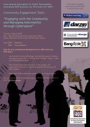Community Engagement Tools - International Association for Public ...