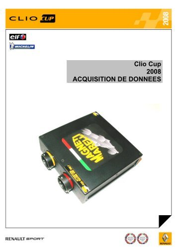 6. acquisition de donnees - World Series by Renault
