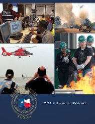 2011 Annual Report - Harris County Homeland Security ...
